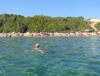 Plaża Gerakas, Zakynthos - pływanie w krystalicznie czystej wodzie