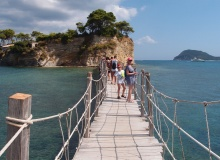 Cameo Islet - most prowadzący do wyspy ze stałego lądu