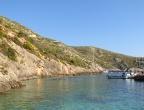 Porto Vromi - pływanie w porcie