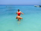Plaża Xigia - naturalne spa siarkowe na Zakynthos