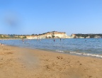 Plaża Gerakas, Zakynthos - idealnie miękki i drobny piasek na plaży