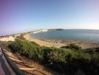 Plaża Gerakas, Zakynthos - widok na plażę z platformy widokowej