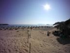 Plaża Gerakas, Zakynthos - wieczór na plaży
