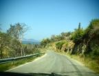 drogi górskie w rejonie Volimes